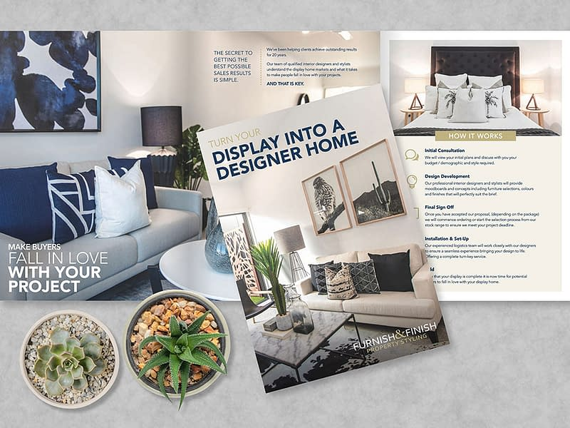 Furnish & Finish 6pp brochure