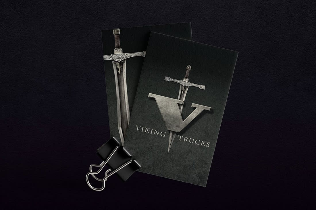 Viking Trucks business cards