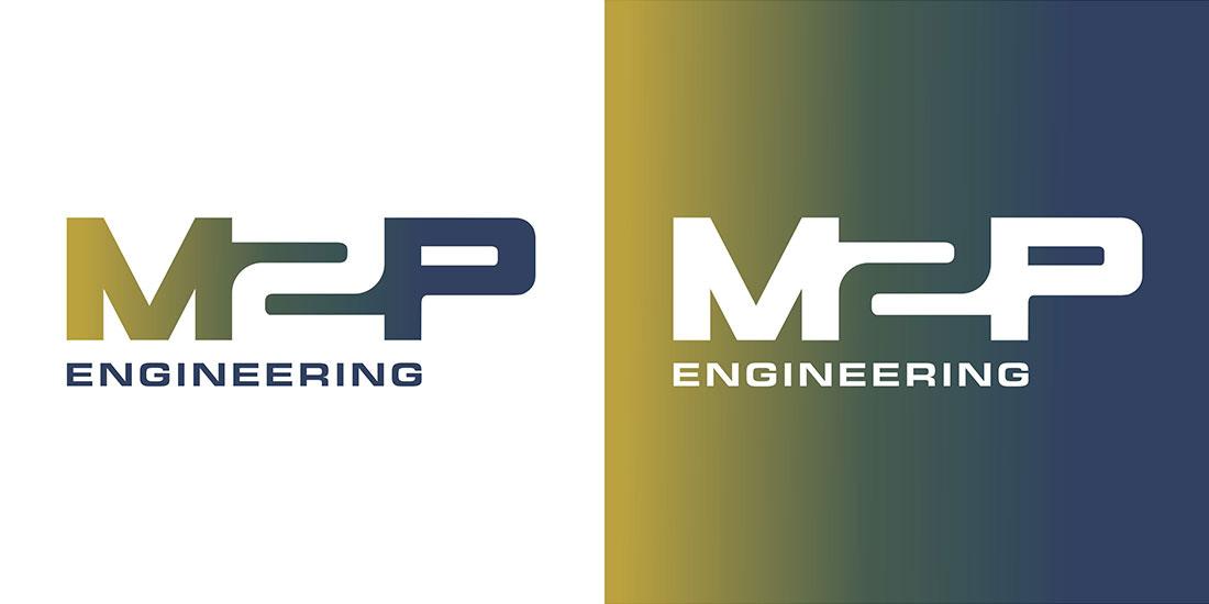 M2P Engineering logo design