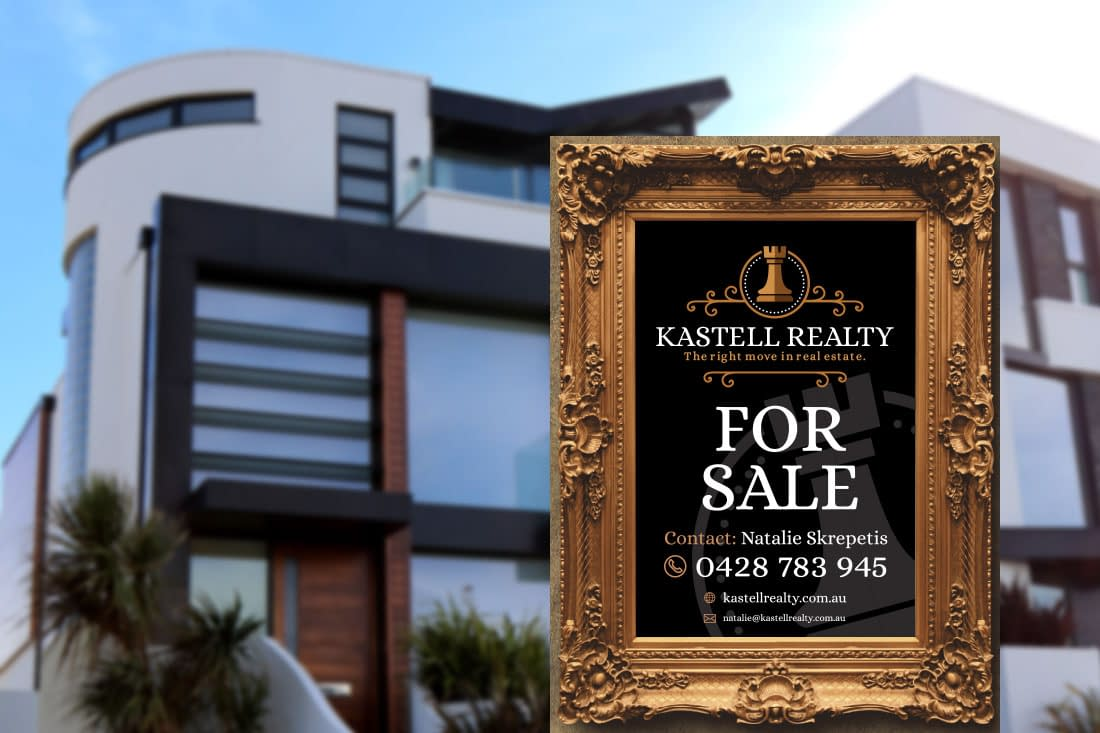 Kastell Realty for sale sign
