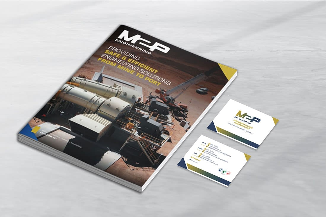 M2P Engineering stationery