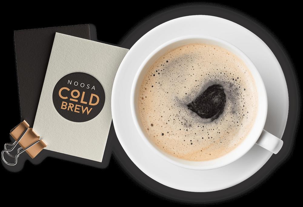 Cold Brew Coffee logo design