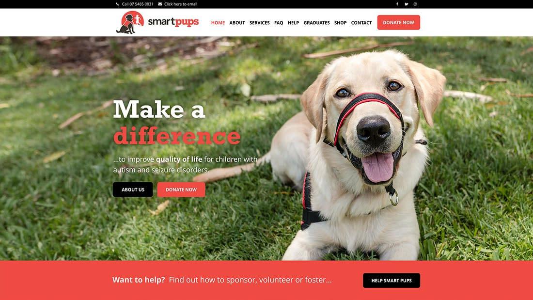 Smart Pups new website
