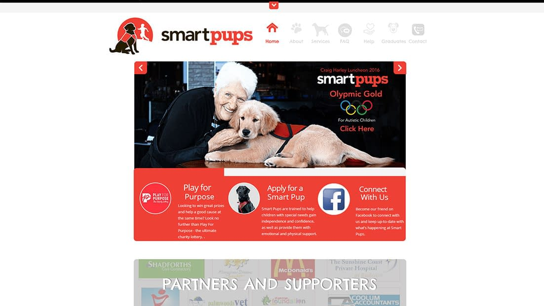 Smart Pups old website