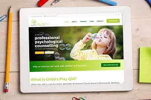 Child's Play Qld website