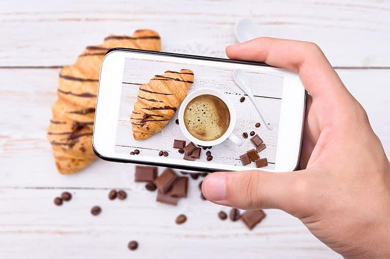 smart phone photography product image