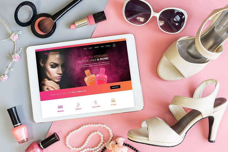 Nails at Noosa Website
