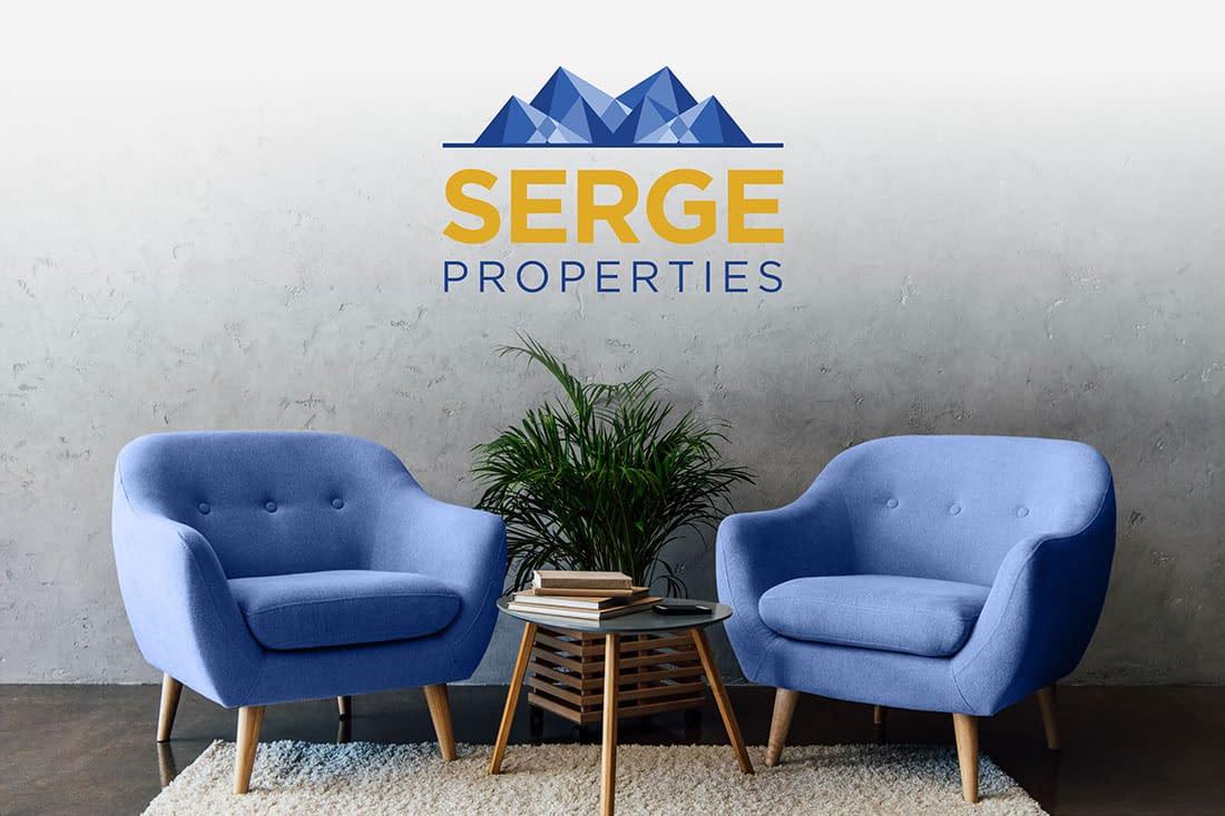 Serge Properties logo design
