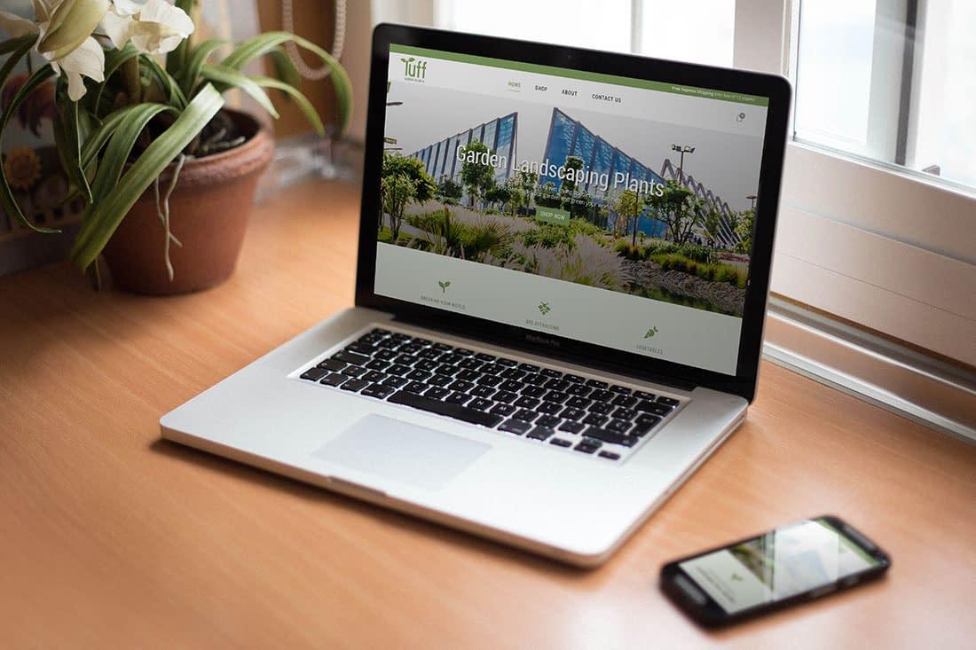 Tuff Aussie Plants Website Design